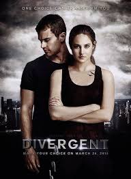 Divergent Movie Cover